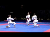 Karate Female Team Kata Bronze Medal - Serbia vs Italy - WKF World Championships Belgrade 2010 (12)