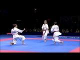 Karate Female Team Kata Bronze Medal - Serbia vs Italy - WKF World Championships Belgrade 2010 (12)